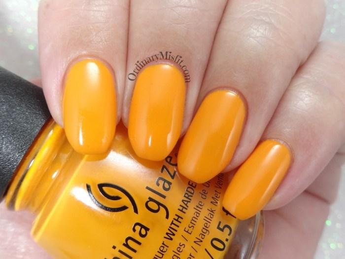 China Glaze - Good as Marigold