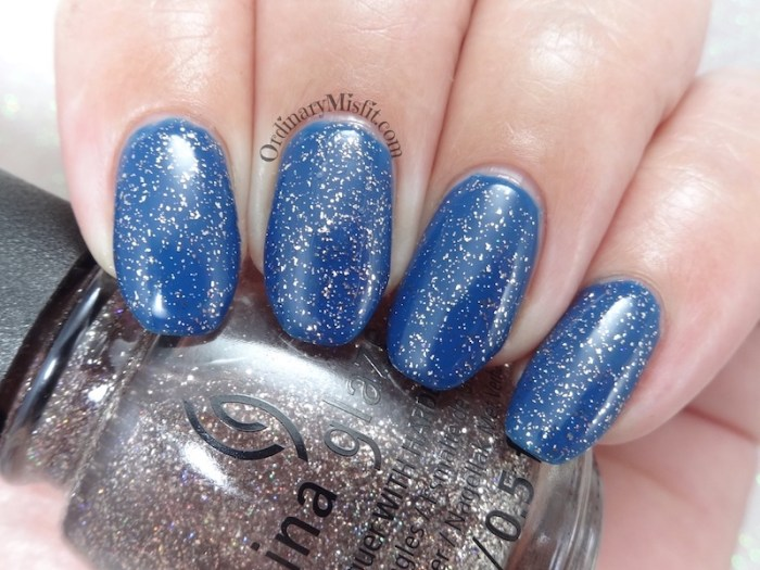 China Glaze - Wildflower hour (over saved by the bluebell)