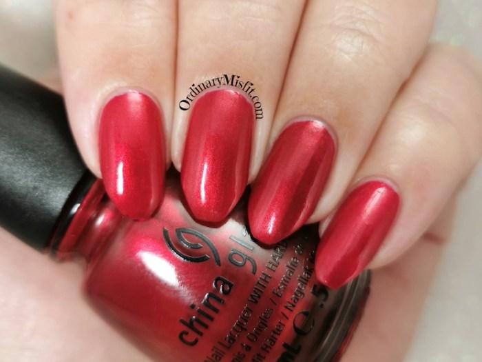 China Glaze - Cranberry splash