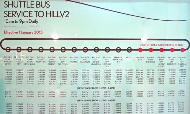 HillV2 Shuttle Bus Map1