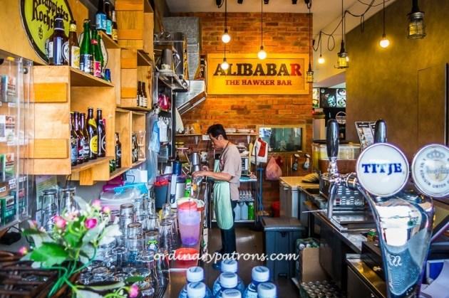Alibabar - the Hawkers Bar