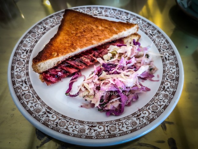 Purple Cabbage Coleslaw at Provision Shop