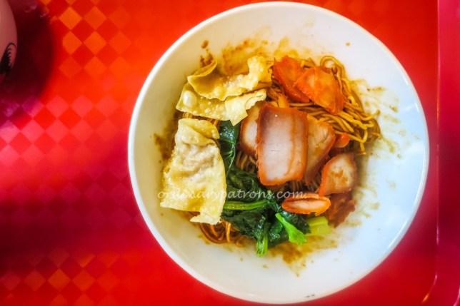 Pontian Wanton Noodles at Paya Lebar Square