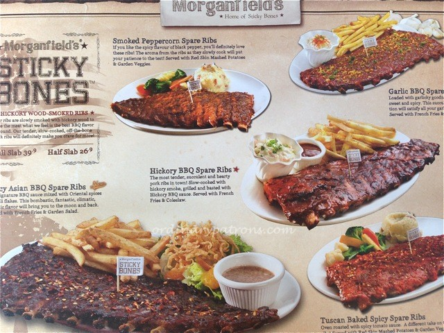 Morganfield's home of sticky bones Star Vista Singapore3