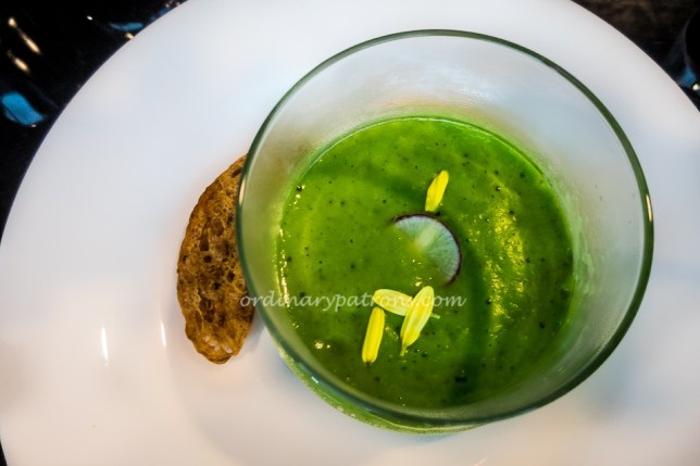 Espuma of Green Pea