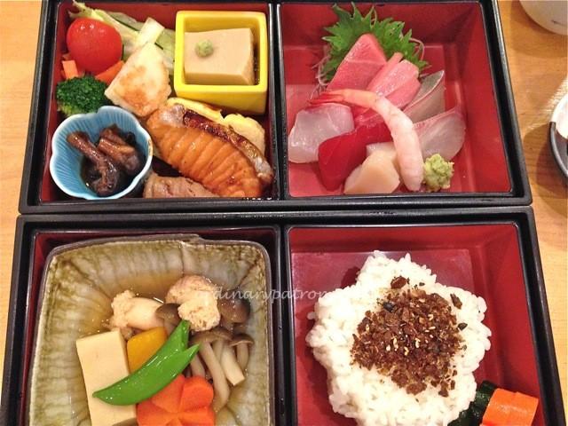 Shiraishi bento lunch Ritz Carlton Singapore4