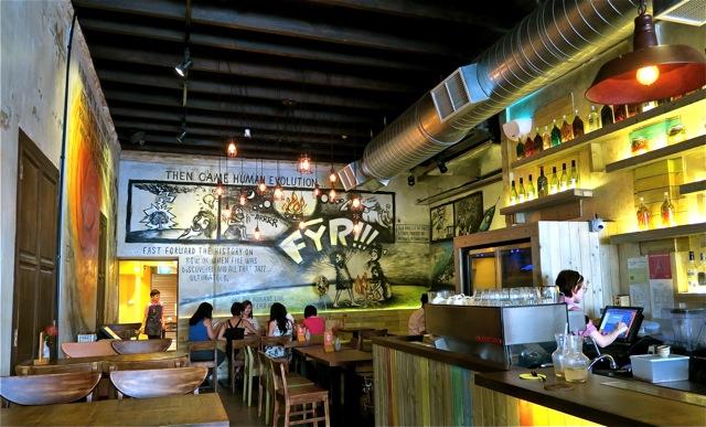 FYR Cycene ond Drinc Restaurant