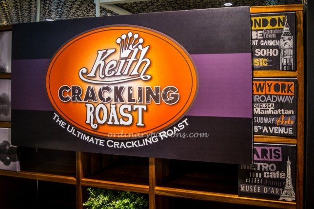 Keith Crackling Roast at I12 Katong