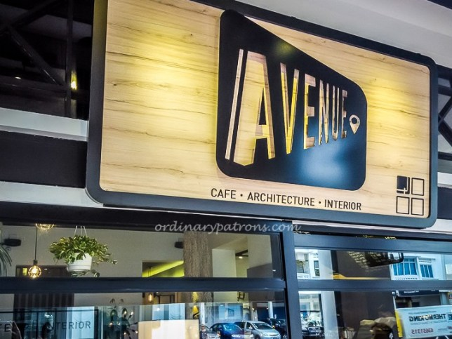 Avenue Cafe Joo Chiat