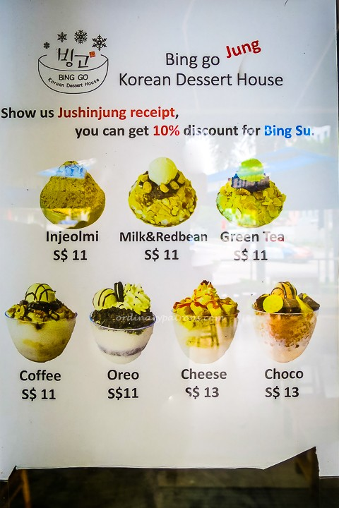 Www Bing Comgo To Www Bing Com: Bingsu At Bing Go Korean Dessert House