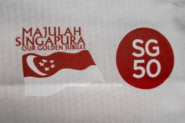SG50 Food Celebrating Singapore Golden Jubilee