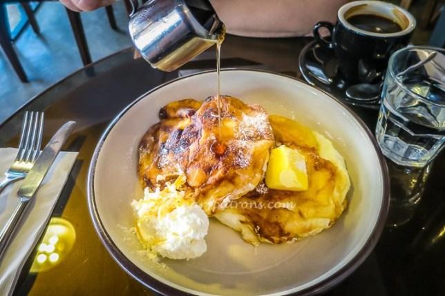 Soufle Pancake Ninethirty Restaurant