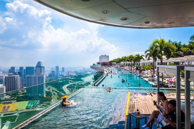 Marina Bay Sands (MBS) Infinity Pool