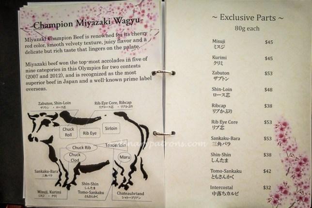 Magosaburo Japanese Restautant Menu