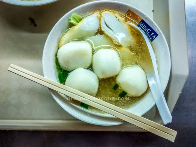 Ming Fa Fishball Noodles