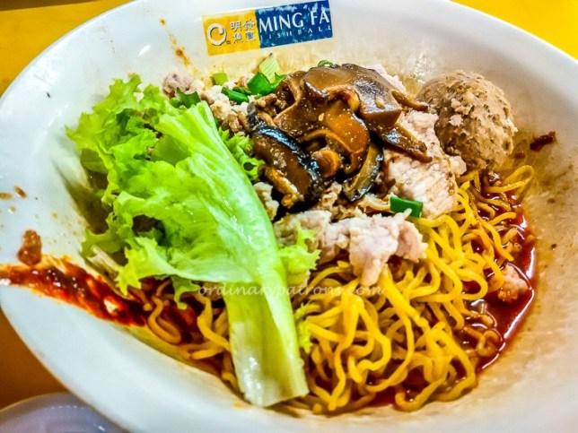 Ming Fa Fishball Noodles Chinatown