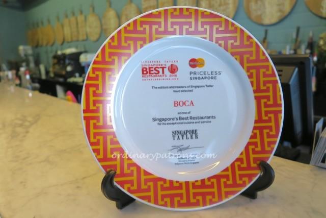 Boca Restaurant Singapore - 5