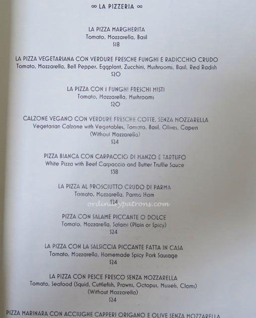 La Barca Singapore Italian Restaurant - 6