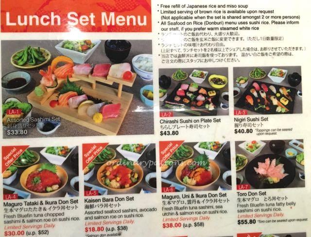 Sumiya Suntec Japanese restaurant - 3
