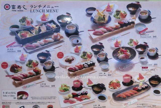 Millenia Walk Tomi Sushi - 7