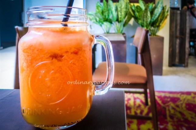 Juices at Montana Singapore Cafe