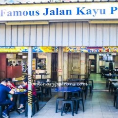 Plastic Bentwood Bistro Chairs Veranda Chair Design Thasevi Food - The Famous Original Jalan Kayu Roti Prata | Ordinary Patrons