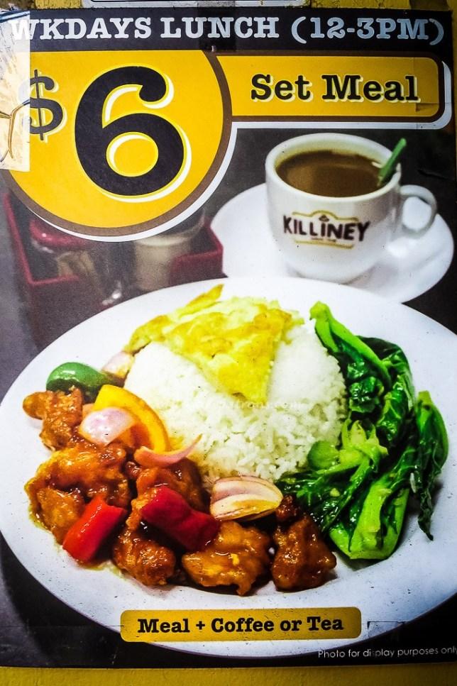 Killiney Kopitiam Set Lunch