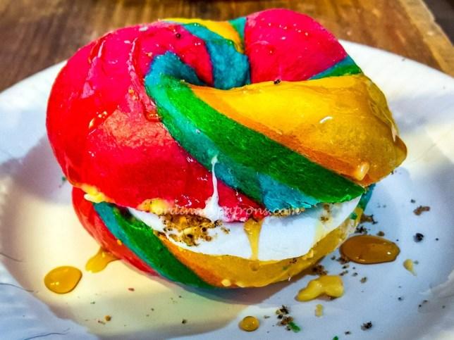 Rainbow Bagel Geylang Serai Hari Raya Bazaar