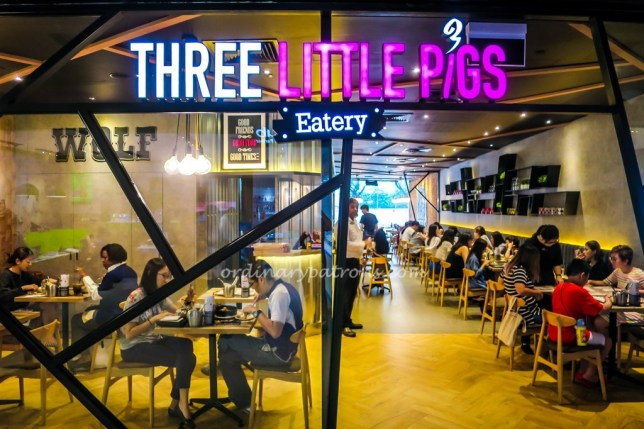 Three Little Pigs Tiong Bahru Plaza