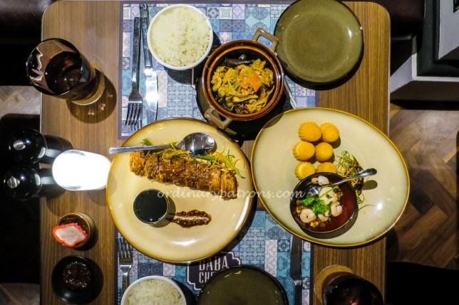 Baba Chews Peranakan food