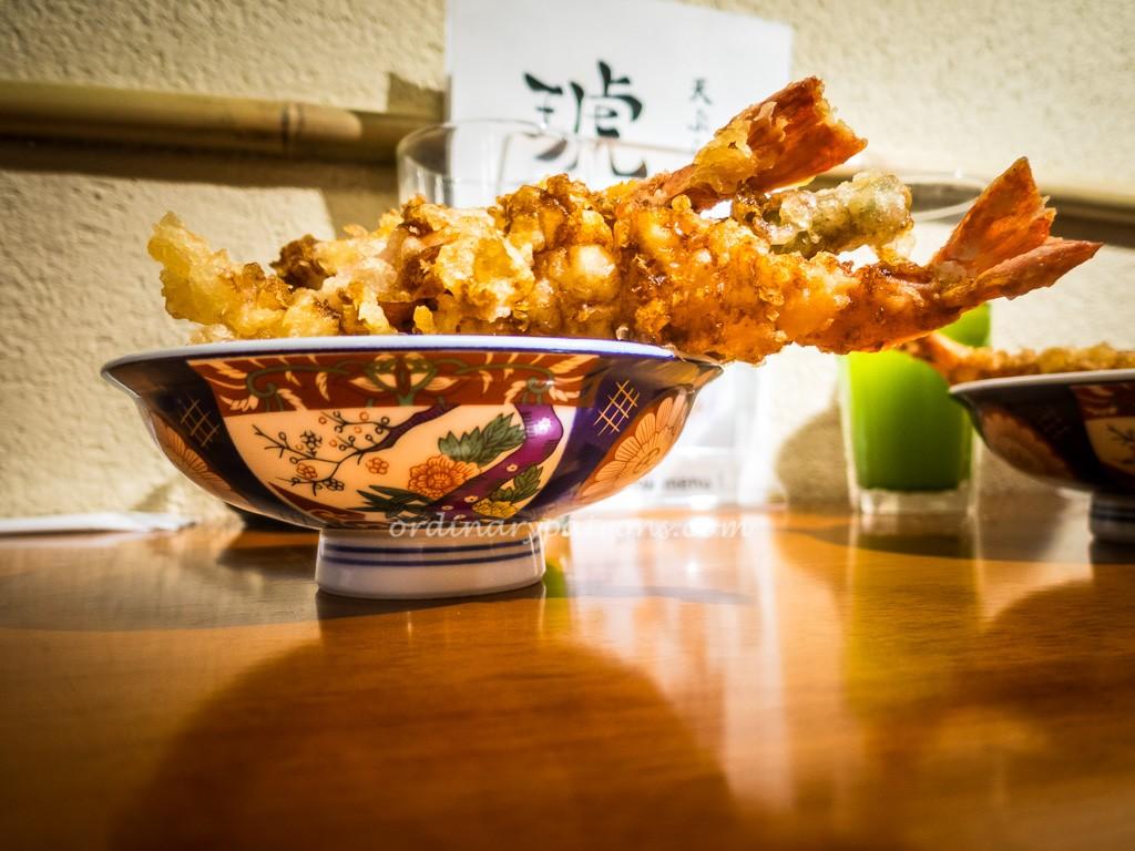 Kohaku Tempura, Eat at 7, Suntec City