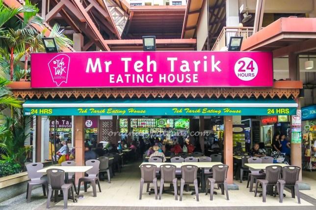Mr Teh Tarik at Geylang Serai