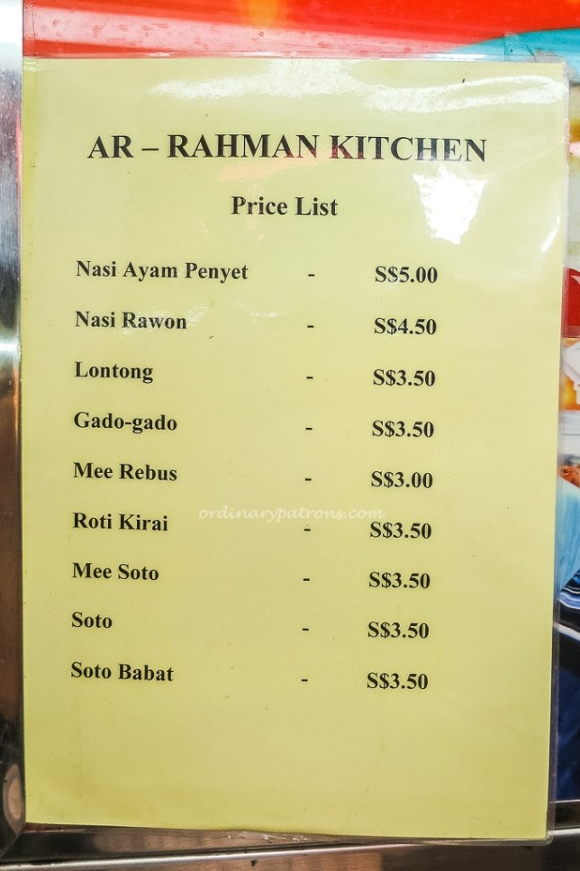 Alrahman Kitchen Menu