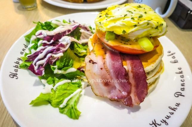 Kyushu Pancake Cafe Egg Benedict
