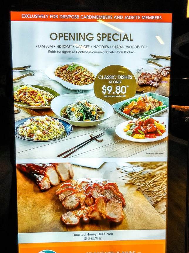 New Crystal Jade Kitchen at The Centrepoint