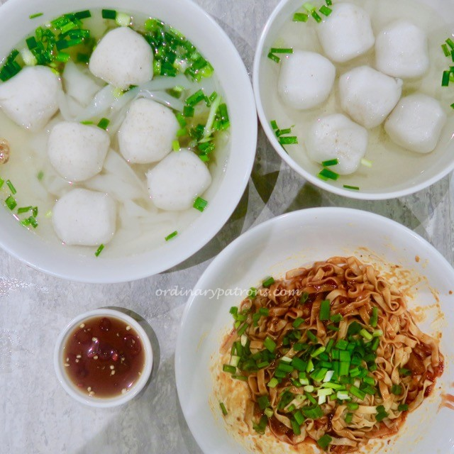 Ion Food Court Fishball Noodles