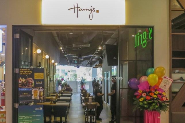 Harry's Bar at Tai Seng Menu