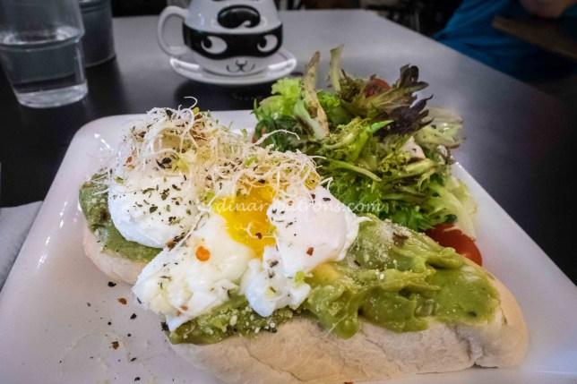 All day breakfast at The Tiramisu Hero