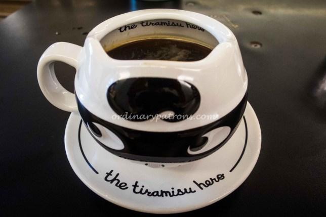 Coffee at The Tiramisu Hero