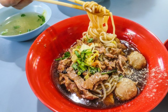 Amoy Street Hong Kee Beef Noodle