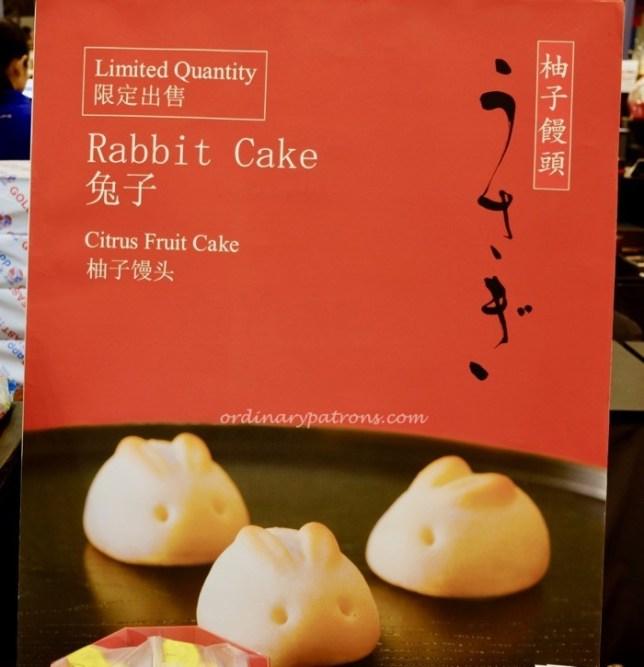Minamoto Kitchoan Rabbit Mooncake