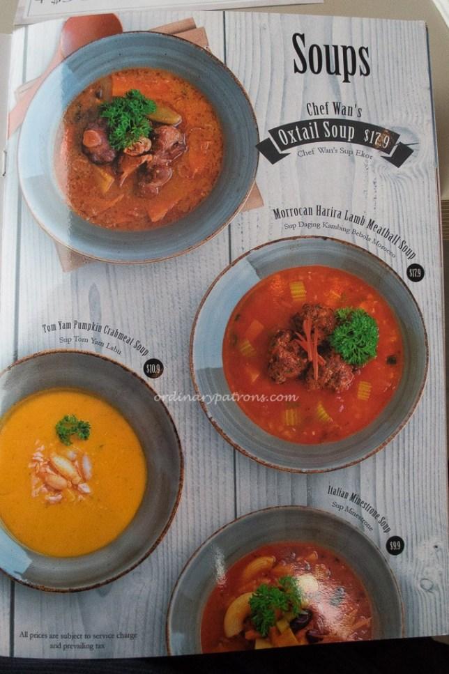Chef Wan's Kitchen menu