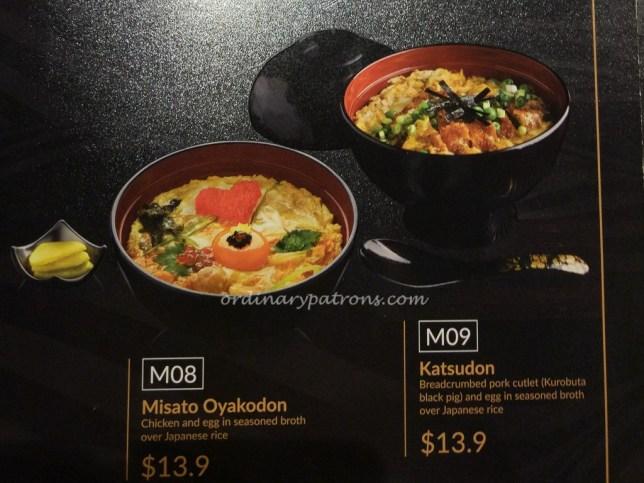 Misato Menu