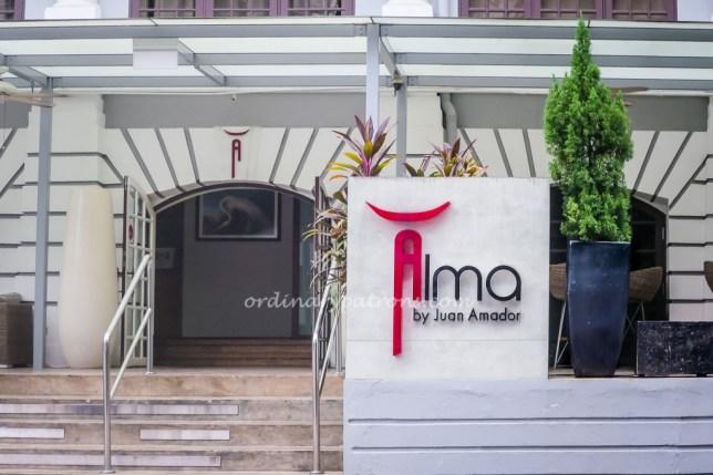 Alma by Juan Amador one Michelin Star restaurant