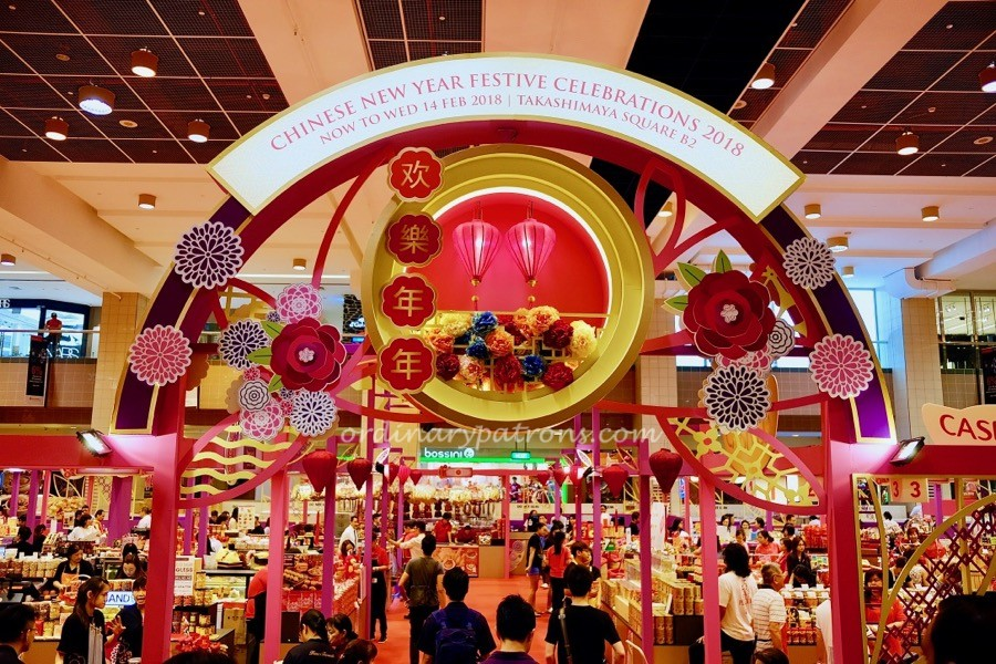 Takashimaya CNY Fair 2018