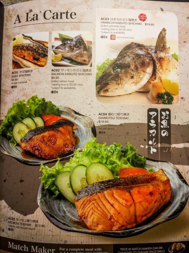 Ichiban Boshi | Contemporary Japanese dining Menu