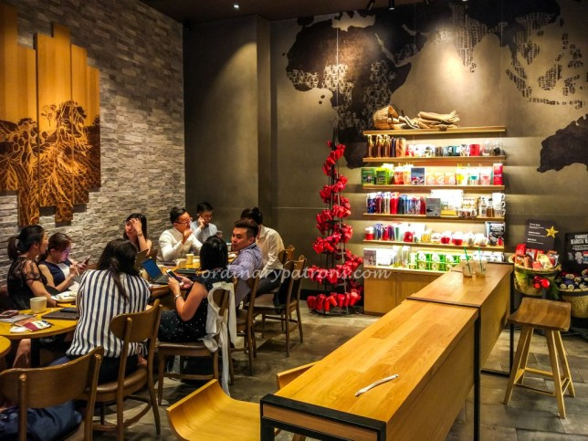 Starbucks Reserve at Marina Bay Sands Singapore