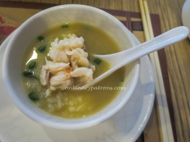 Lobster Porridge at Wan He Lou 萬合樓