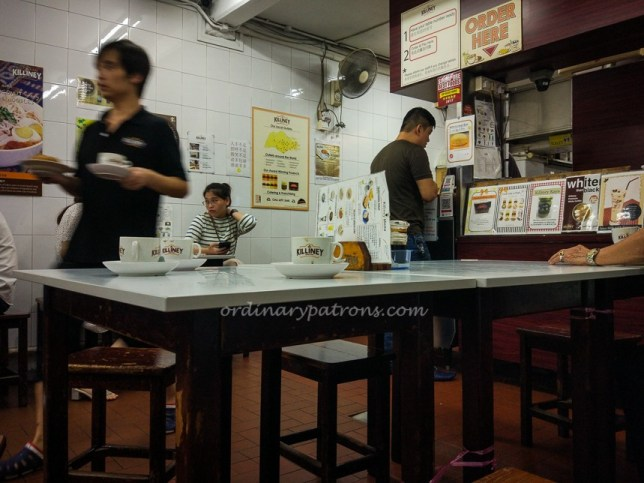 Breakfast at Killiney Kopitiam