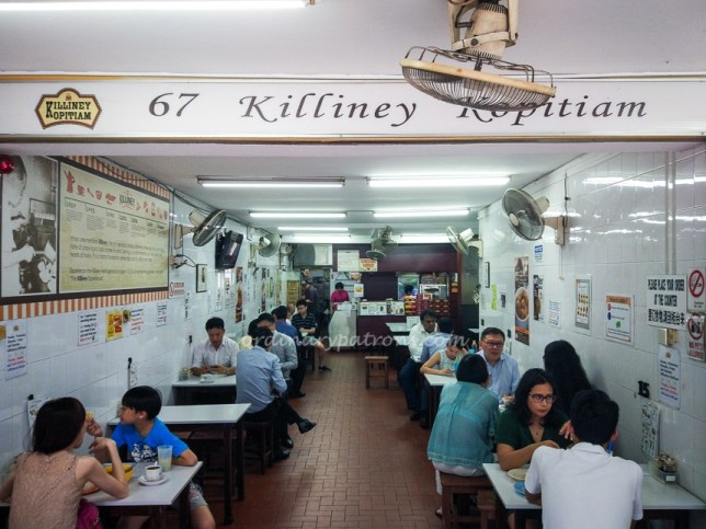 Killiney Kopitiam at Killiney Road